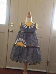 Sunflower Dress 1